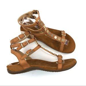 Vionic Tan Strappy Sandals Size 7